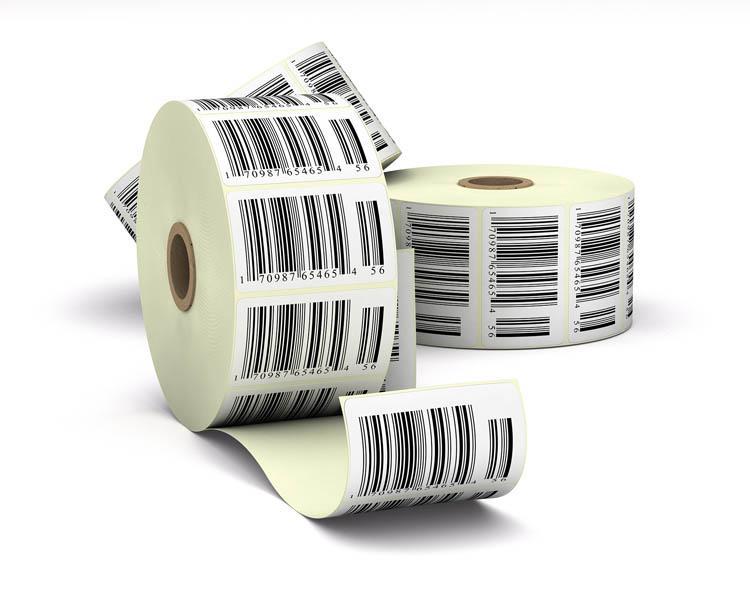 наклейки штрих - коды для магазинов