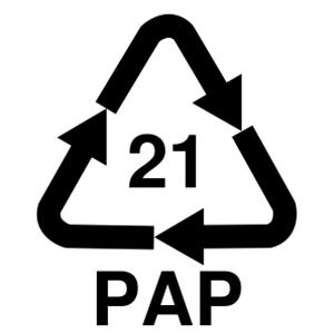 21 PAP —прочие виды картона.