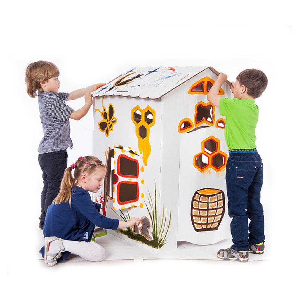 Домик раскраска с дизайном на заказ и бесплатной доставкой ...